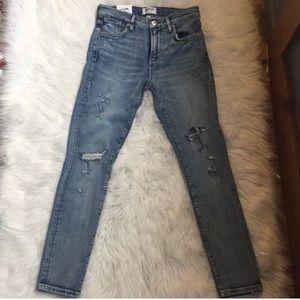 AGOLDE Sophie Crop Skinny Jean size 25
